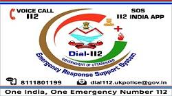 Dial 112